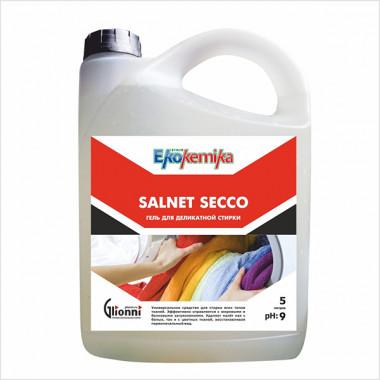 Фото SALNET SECCO Гель для  деликатной стирки всех типов тканей 5 л 1/4