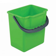 Ведро пластик 25л для уборочных тележек УТП зеленое