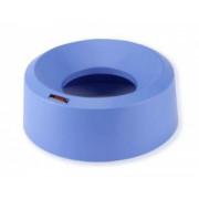 Ирис крышка для контейнера воронкообразная круглая синий