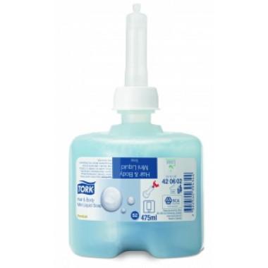 Фото Картридж с жидким мылом-гелем Tork S2 Premium 0.475 л