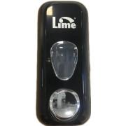 Lime диспенсер для жидкого мыла заливной чёрный 0.6 л / Артикул 971002