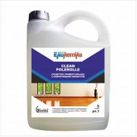 CLEAN POLEROLLE Средство для полов и стен с полирующим эффектом 5л 1/4