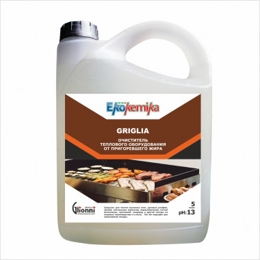 Фото GRIGLIA Очиститель теплового оборудования от пригоревшего жира 5 л