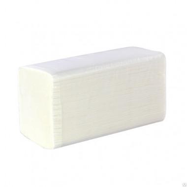 Фото Бумажные полотенца листовые Z сложения 1 слойные 200 шт Система H2, 21шт/упак