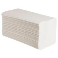 Бумажные полотенца листовые V сложения 1 слойные 250 шт Система H3, 20шт/упак