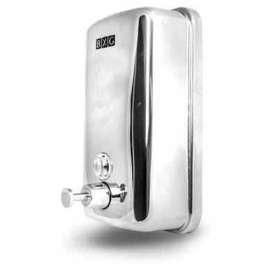 Фото Дозатор для жидкого мыла BXG-SD-Н1-1000 нержавеющая сталь, хром 1000 мл