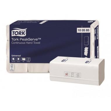 Фото Бумажные полотенца листовые TORK 1 слойные 410 шт Система H5, 12шт/упак