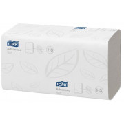 Полотенца бумажные листовые Tork Advanced H3 ZZ-сложения 2-слойные 20 пачек по 200 листов