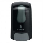 Диспенсер BINELE mBase для жидкого мыла картриджный, черный