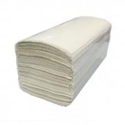 Бумажные полотенца листовые Glionni 1 слойные 250 шт Система H3, 20шт/упак