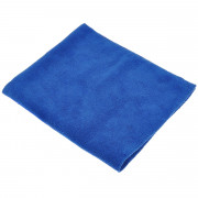 Салфетка из микрофибры 50*60см, 220гр (синяя) 1уп/1шт