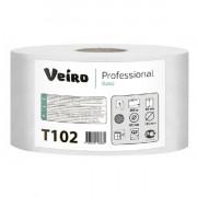 Туалетная бумага Veiro Professional Basic, 1 слойная, 200 м 1/12