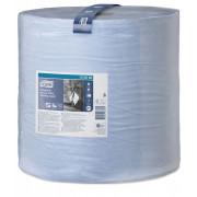 Протирочная бумага TORK 2 слойные голубой 510м Система