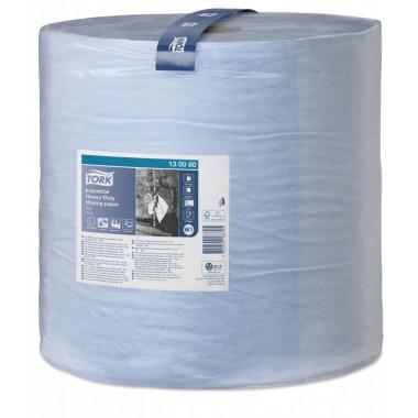 Фото Протирочная бумага TORK 2 слойные голубой 510м Система