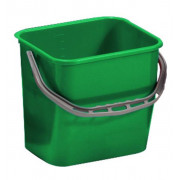 Ведро пластик 25л для уборочных тележек зеленое