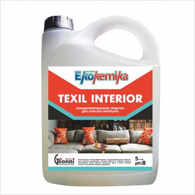 Фото TEXIL INTERIOR Пятновыводитель для мебели и ковров 5 л