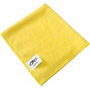 Салфетка из микрофибры 40*40см 380г (желтый)