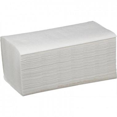 Фото Бумажные полотенца листовые Z сложения 2 слойные 200 шт Система H3, 21шт/упак
