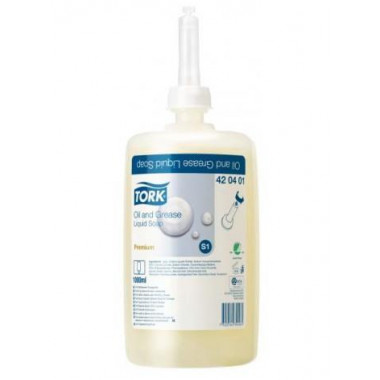 Фото Картридж с жидким мылом Tork S1 Premium 1 л, 6 штук в упаковке