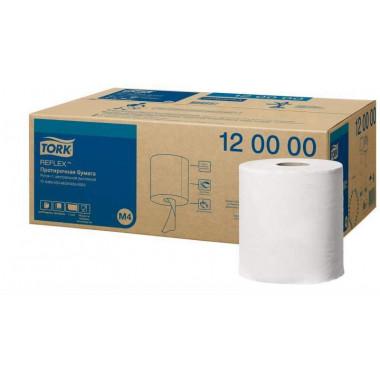 Фото Tork Reflex Полотенца бумажные в рулонах с центральной вытяжкой М4 1-слойные 6 рулонов по 270 метров