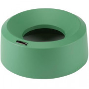 Ирис крышка для контейнера воронкообразная круглая зеленый
