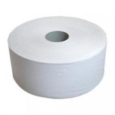 Фото Туалетная бумага в рулоне 1 слойная, 480 м светло-серая, в коробке 6 рулонов