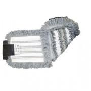 Моп плоский Vileda Professional ТриоПлюс УльтраСпид Про микроволокно/хлопок/полиэфиры/ПЭС 40x14 см серый