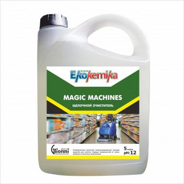 Фото Magic Machines Щелочное средство для машинной и ручной мойки 5л 1/4
