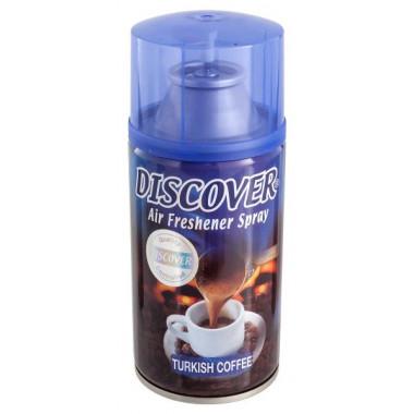 Фото Сменный баллон для автоматического освежителя Discover TURKISH COFFEE 320 мл
