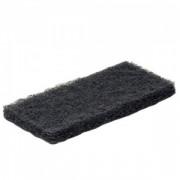 Пад абразивный черный 15х25 см
