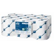 Бумажные полотенца в рулонах TORK 2 слойные белый 143м , 6 шт/упак