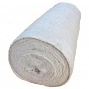 Полотно холстопрошивное ширина 132 см, Фурманов, 50 м белое