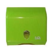 Lime диспенсер для полотенец V-укладки зелёный
