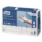 Бумажные полотенца листовые TORK 2 слойные 110 шт Система H2, 21шт/упак
