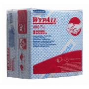 Kimberly-Clark 19139 WYPALL X80 Plus нетканый протирочный материал, салфетки синие