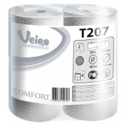 Туалетная бумага Veiro Professional Comfort, 2 слойная, 25 м 1/8 кор/6упак