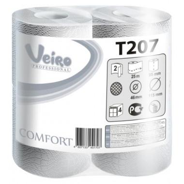 Фото Туалетная бумага Veiro Professional Comfort, 2 слойная, 25 м 1/8 кор/6упак