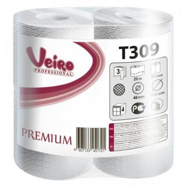 Фото Туалетная бумага Veiro Professional Premium, 3-слойная, 20 м 1/8 кор/6