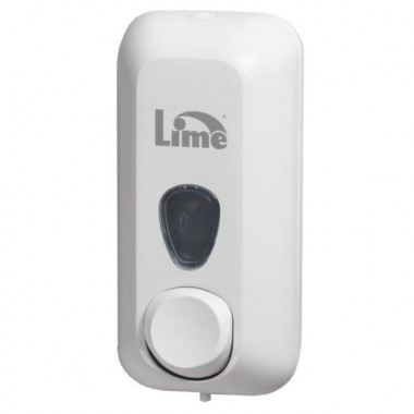 Фото Lime Диспенсер для жидкого мыла 0.6 л заливной белый 21.6 х 9 х 10.2 см