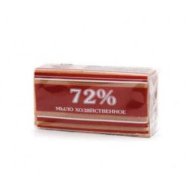 Фото Мыло хозяйственное 72% в обертке ЭКСТРА, 200г без запаха белое ММЗ